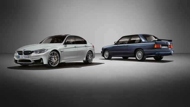 BMW celebrates 30 years of M3 with M3 30 Jahre limited edition